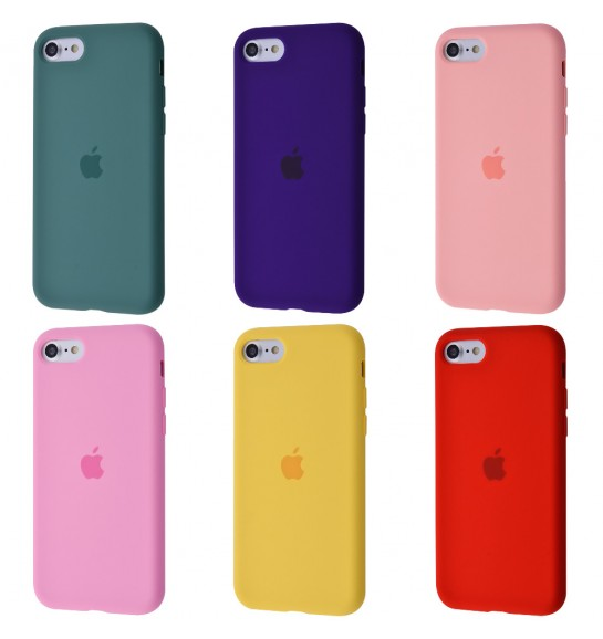 Silicone Case Full Cover iPhone 7/8/SE 2
