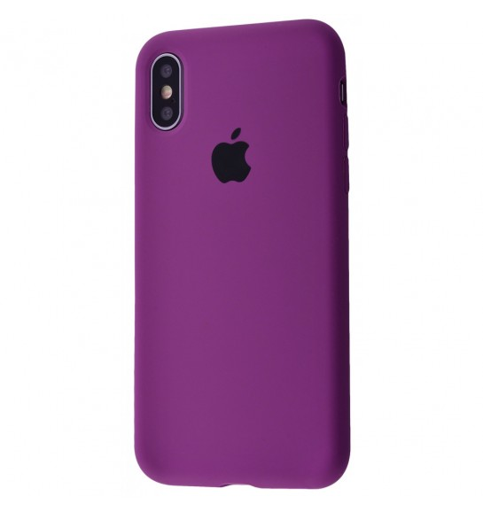 Silicone Case Full Cover iPhone Xs Max